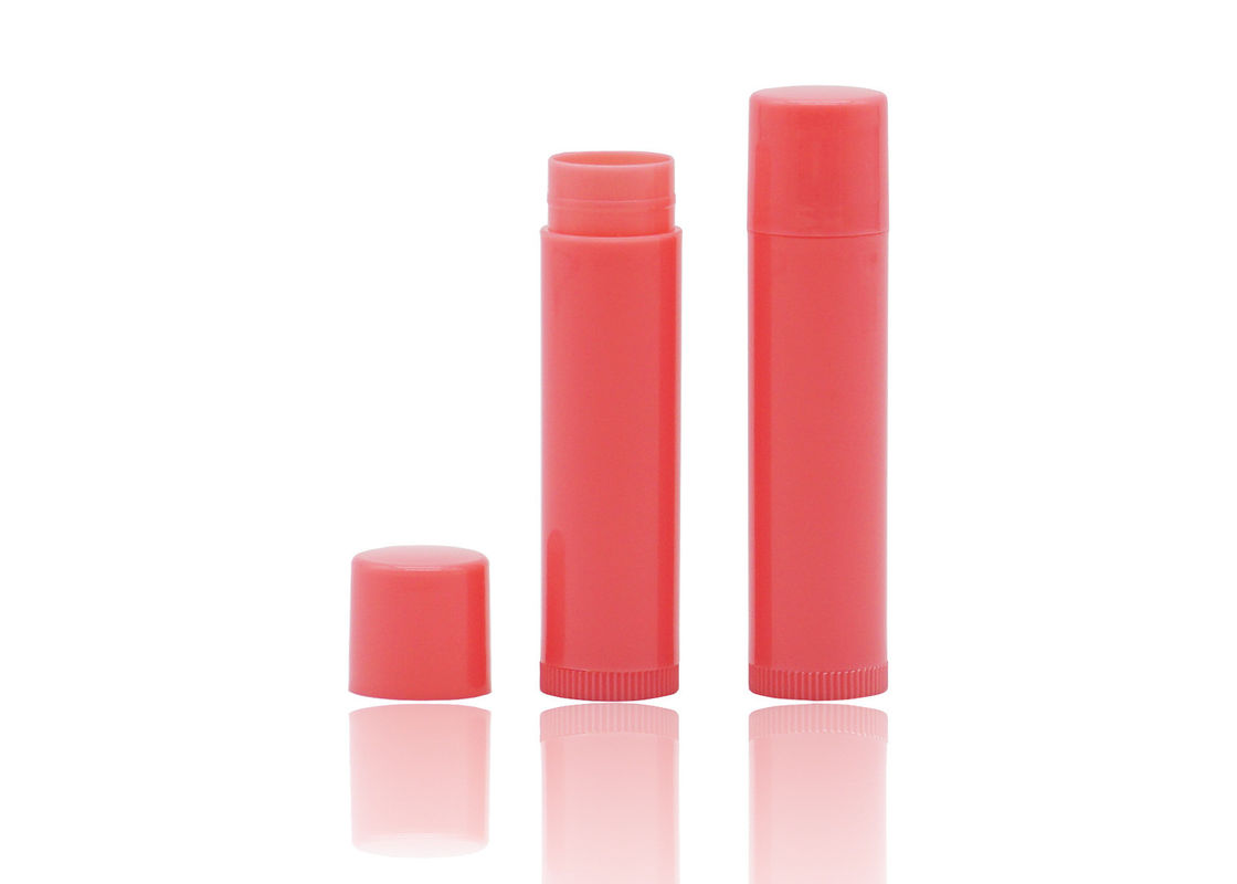 Plastic 5g PP Lip Balm Tubes Empty Lip Balm Container For Cosmetic Personal Care