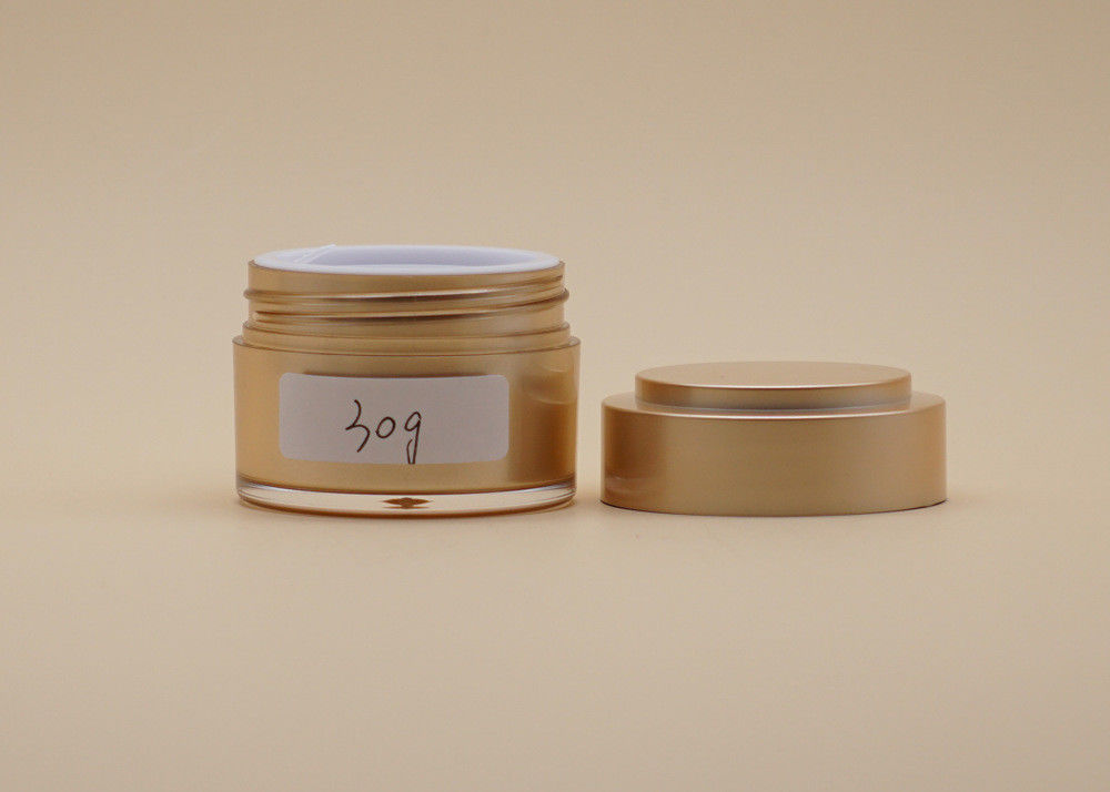 Arcylic Plastic Empty Makeup Containers 15g 30g 50g Customized Color