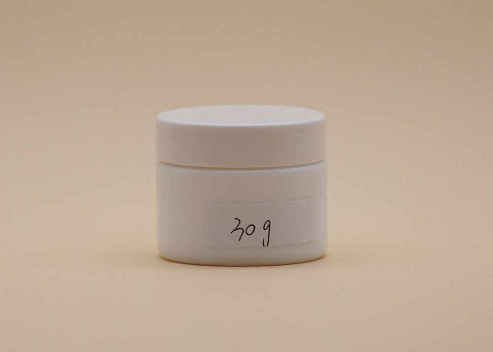 Cylinder Cosmetic Cream Containers , 30g Beauty Cream Jars For Face Care