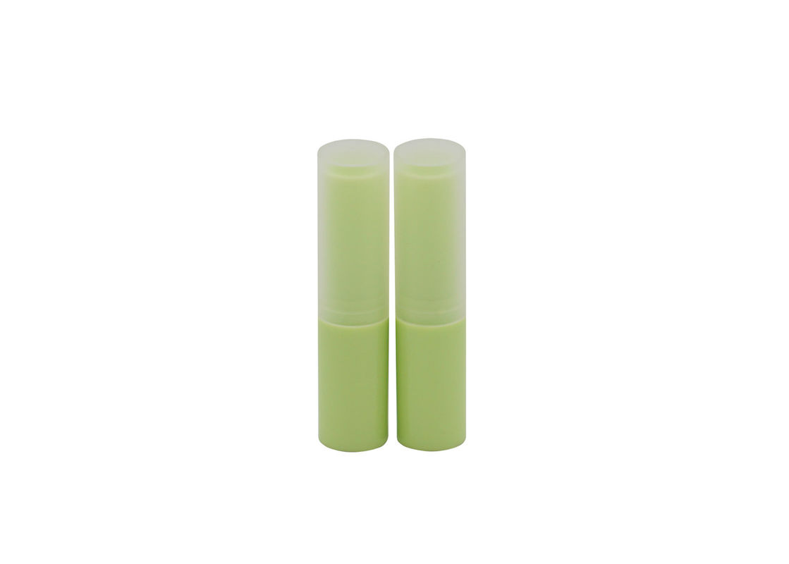 Natural Mini Lip Balm Tubes 4g Empty Abs Lip Balm Container In Pp Cap
